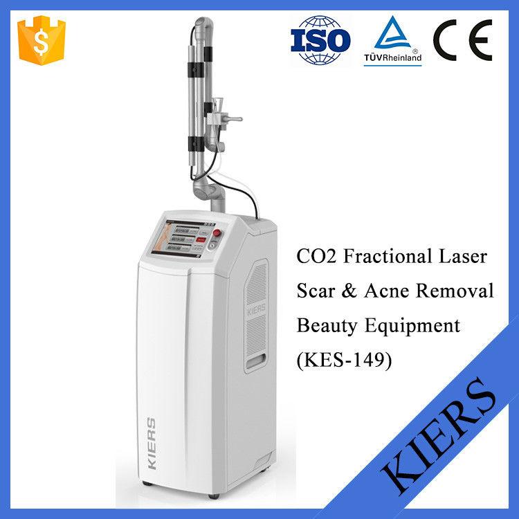 Vertical Skin Resurfacing Laser Beauty Equipment With Skin Rejuvenation